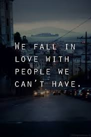 Sad Falling In Love Quote