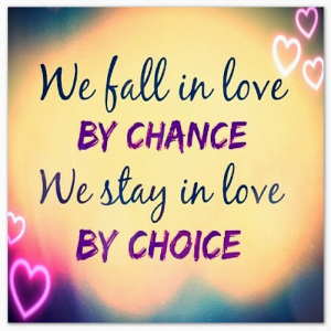 Stay In Love Quote
