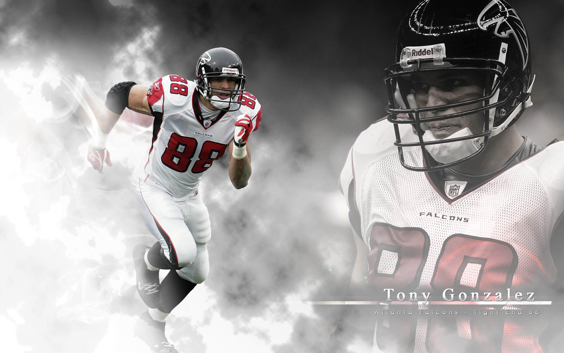 Tony Gonzalez Atlanta Falcons Wallpaper