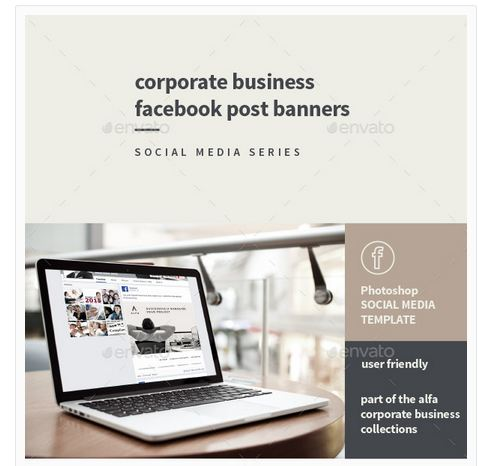 Corporate Business Facebook Post Banners