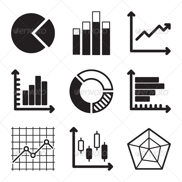 Diagram Icons Set
