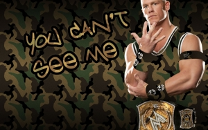 JOHN CENA YOU CAN'T SEE ME Wallpaper
