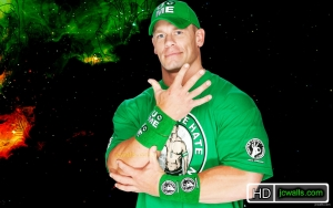 John Cena 2013 Green T Shirt wallpaper