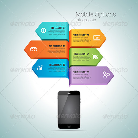 MOBILE OPTION INFOGRAPHIC