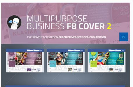 Multipurpose Business Facebook Cover 2