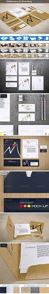 Stationery - Branding Mock-Up