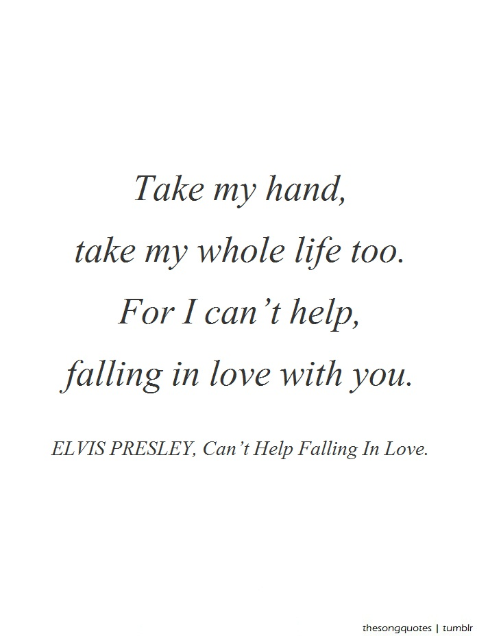Take My Hand Quote