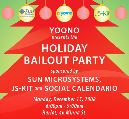 10. the holiday bailout party