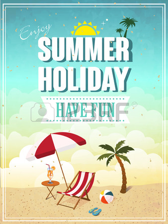 15. lovely-summer-holiday-have-fun-poster-template
