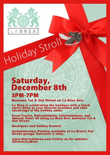 16. La Breas 1st Annual Holiday Stroll