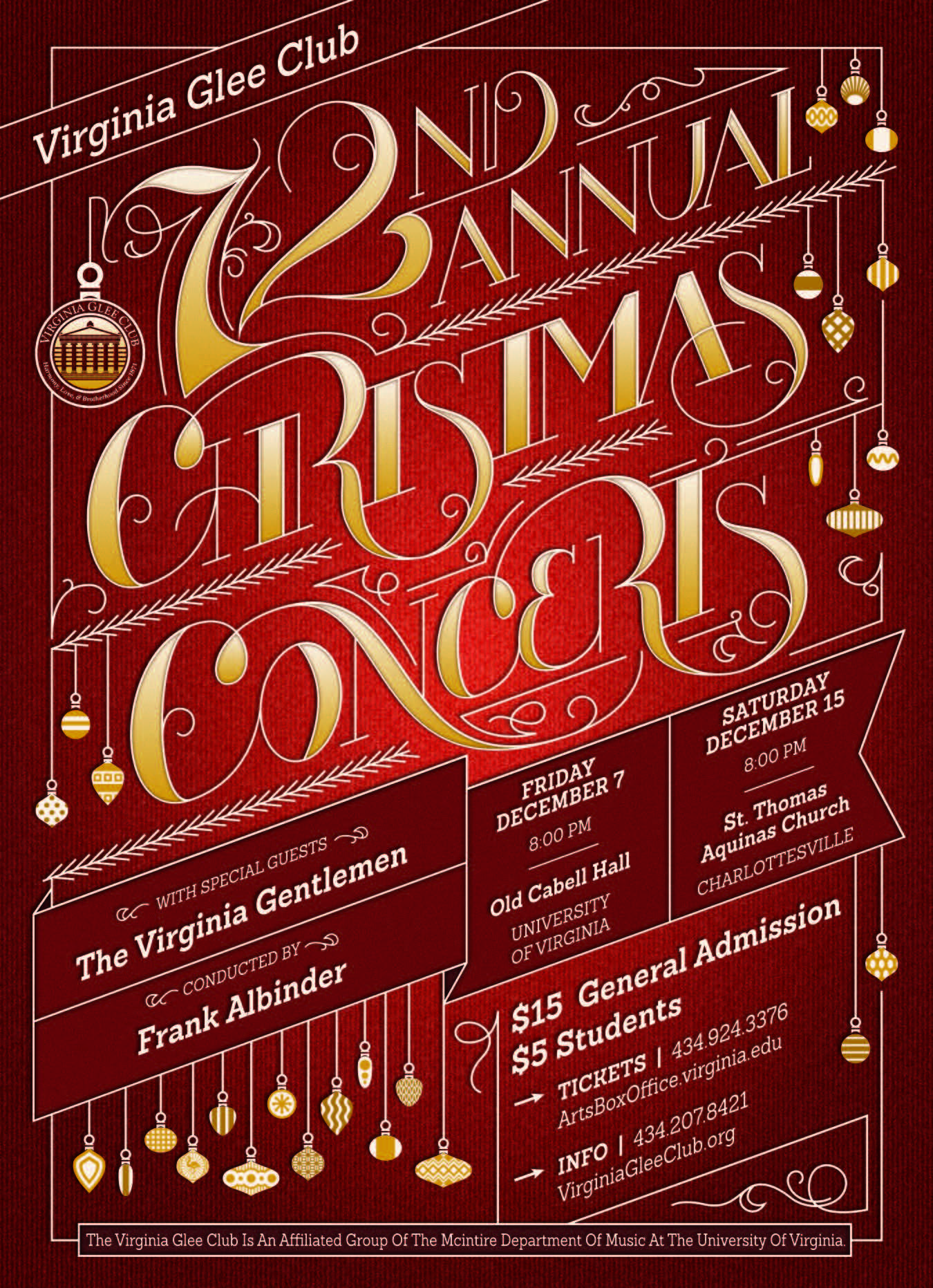 18. Choir concert poster template