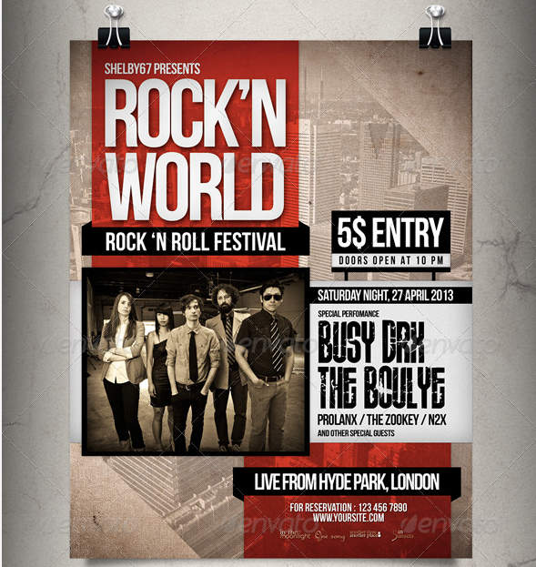 5. Print-Templates-Rock-Music-Flyer-Poster