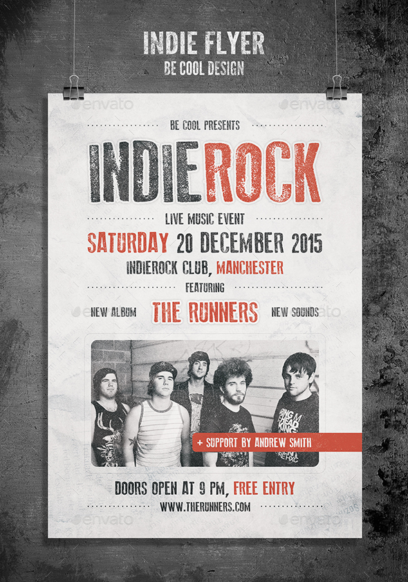 6. indie flyer_poster