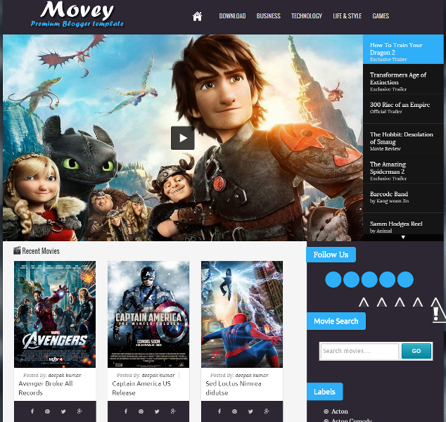 6. movey-free-blogger-movie-entertainment-template